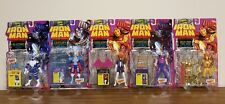 "TOY BIZ 5""IN ""IRON MAN"" LOT OF 5 MARVEL COMICS 1995 Spider-Woman Hawkeye Century"