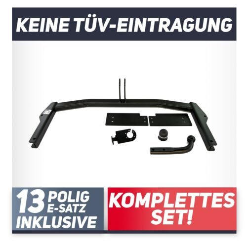 Mazda 6 GG 5-Tür 03-08 Anhängerkupplung starr+E-Satz 13p