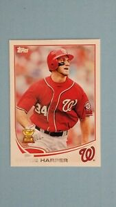 2013 TOPPS BASEBALL ALL STAR ROOKIE #1 BRYCE HARPER NATIONALS MINT