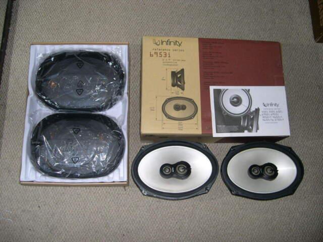 6953I Infinity 6 x 9 in 3-Way Car Speaker
