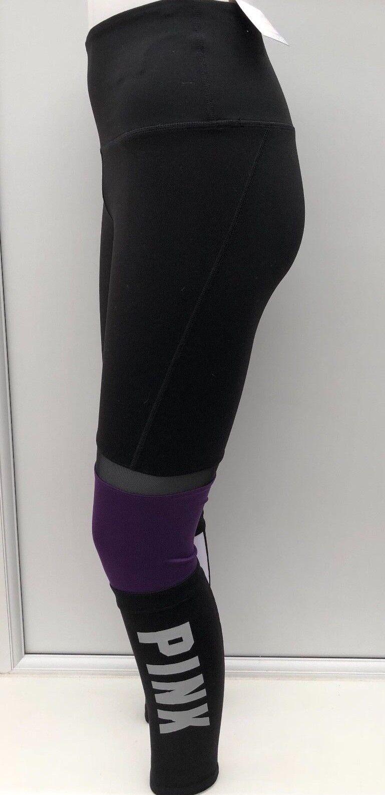 Victoria's Secret Vs rosa Ultimate Ad Alta Vita Leggings girovita taglia S 26-27  nuova con etichetta