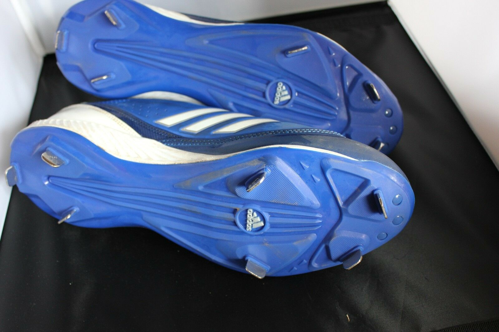 Adidas - 365 dunkelblau, weiße metall stollen niedrig - softball - stollen metall mens, 11,5 5019e6
