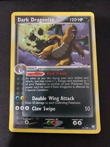 Pokemon-Dark-Dragonite-15-109-Holo-Rare-EX-Team-Rocket-Returns-Heavily-Played