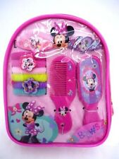 DISNEY MINNIE MOUSE HAIR ACCESSORIES BACKPACK BOBBLES CLIPS COMB