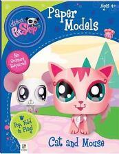 Littlest Pet Shop Cat and Mouse (Paper Model series) - New - Hinkler Editors - P