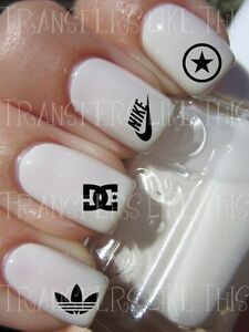 DESIGNER-SPORT-LOGOS-30-Stickers-ongles-manucure-nail-art-water-decal