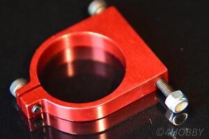 Motorhalter 25 Mm Cnc Alu Rot Rc Rohrschelle Halter Motor