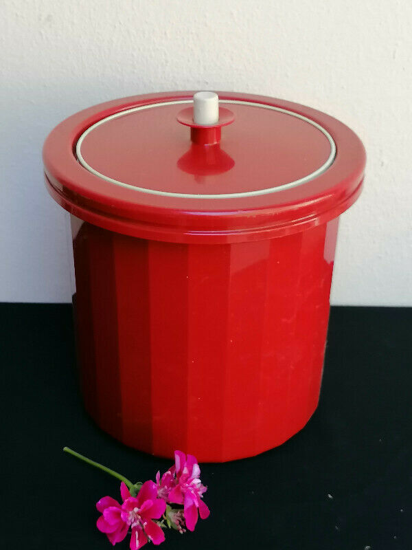 Maroon Red Ice Bucket