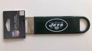 NFL-New-York-Jets-Football-7-Steel-Vinyl-Coated-Bottle-Opener-NEW