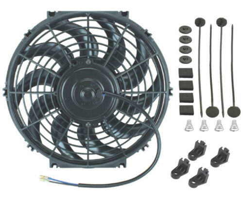 """11-12/"""" INCH ELECTRIC ENGINE RADIATOR COOLING FAN 12V HIGH PERFORMANCE CAR TRUCK"""