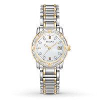 Bulova Diamond Accented Women's Watch