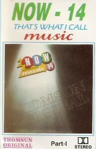 Various ..  Now That's What I Call Music! 14.. cassette. Import
