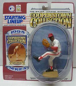 "1995  BOB GIBSON - ""COOPERSTOWN"" - Starting Lineup - SLU - st. Louis Cardinals"