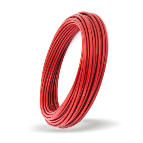 2-10mm 1x7 1x19 6x7 6x19 PVC COATED WIRE ROPE 5 colours steel cable L 1-100m D
