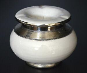 cendrier Marocain blanc anti-fumée décoration Maroccan ashtray ceramic smoking