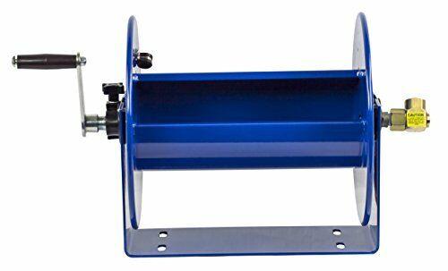 """Compact Hand Crank Hose Reel 117-3-250 Holds 3//8/"""" x 250/' Length Hose 4000 PSI"""