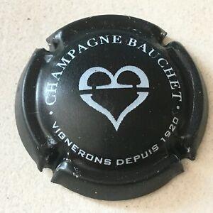 9d. Noir mat et blanc Capsule de champagne BAUCHET