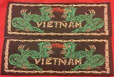 Silk Vietnam Dragon Liberty Cuff Set