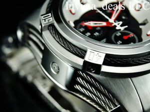 Invicta-Mens-52mm-Bolt-Zeus-Swiss-ETA-Chronograph-Black-Dial-Red-Accent-SS-Watch
