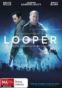 Looper-DVD-2017-R4-terrific-condition-Bruce-Willis