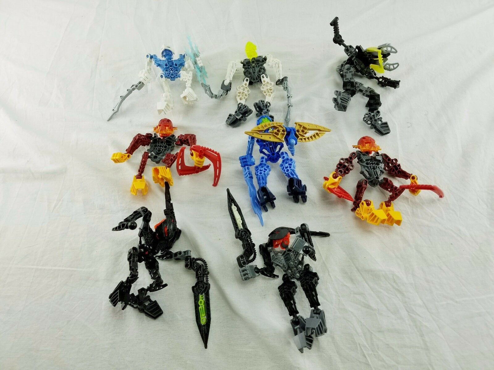 Lot Lot Lot of 8 LEGO Bionicles cf5213