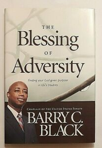 The Blessing of Adversity Signed by Barry C. Black Autographed Hardback Chaplin