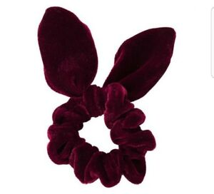 TopShop-Women-039-s-Velvet-Wire-hair-band-scrunchie-various-colours