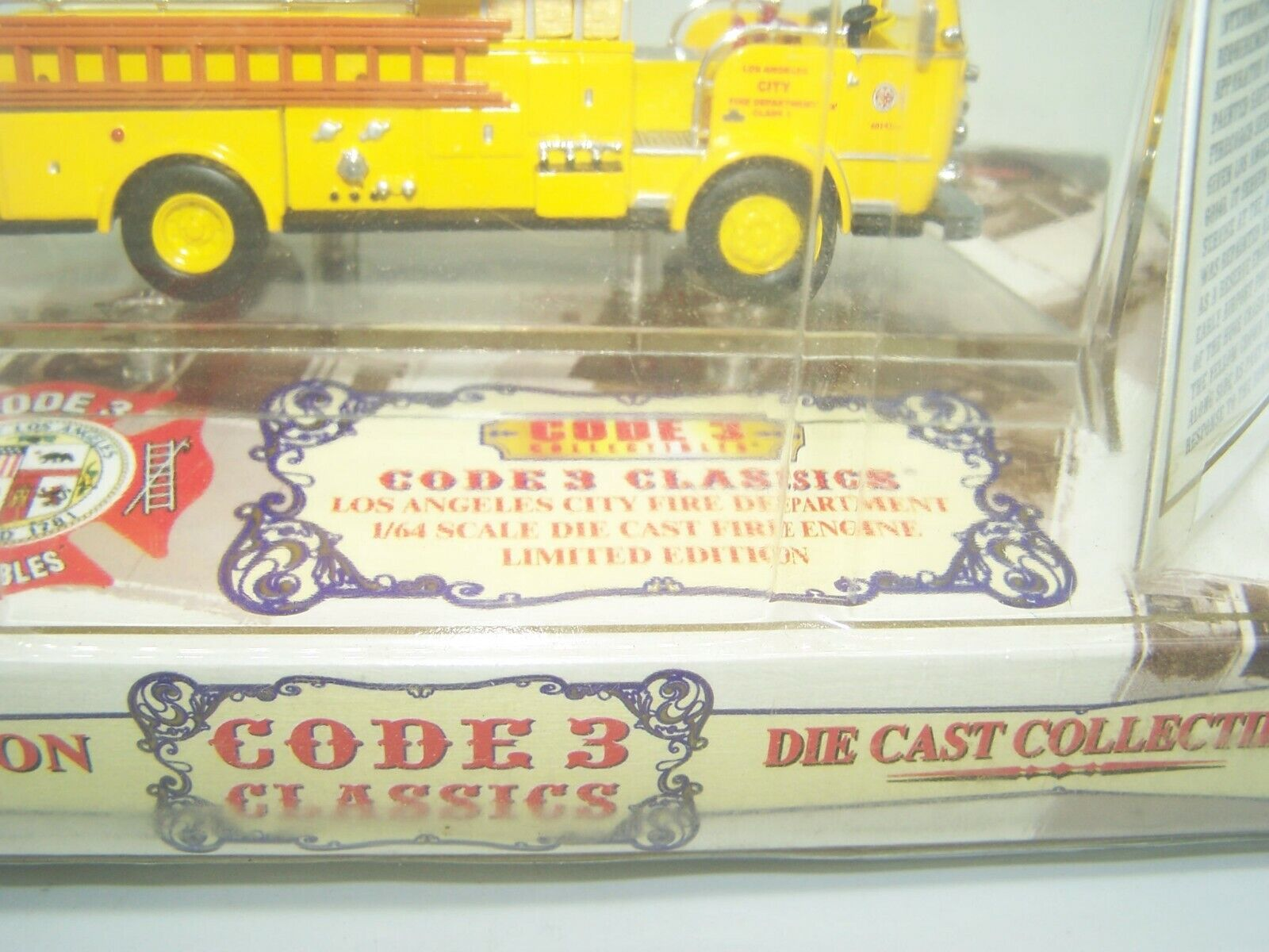 Code 3 Classics FIRE ENGINE CAMION Los Angeles Fire Dept - 1 64