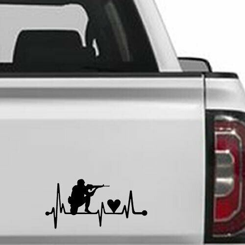 Sports Heart beat Life Music Decal Sticker for Laptop Macbook Car Window Wall