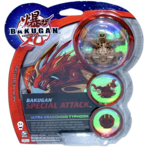 SUBTERRA BAKUGAN SPECIAL ATTACK ULTRA DRAGONOID TYPHOON BATTLE BRAWLERS!