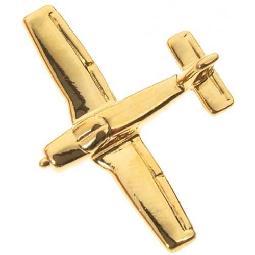 Gold Clivedon Piper Cherokee PA 28 Boxed Pin