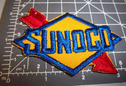 RARE 1960s SUNOCO service station Embroidered Patch NEW /& UNUSED patch
