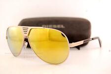 Brand New Diesel Sunglasses DL 0134 Color 28L Dark Gold/Gold Mirror Men Women