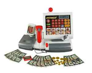 Electronic Toy Cash Register Play Teaching Purposes Classroom Math Educational