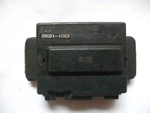 Kawasaki GPZ600 ZX600 fuse box junction box 1988