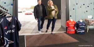 Commercial Door Mats, Industrial, Shop, Workshop Heavy Duty Mats. Kleen-Tex