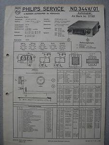 Philips-ND344V-01-Autoradio-Schaltplan-Ausgabe-11-55