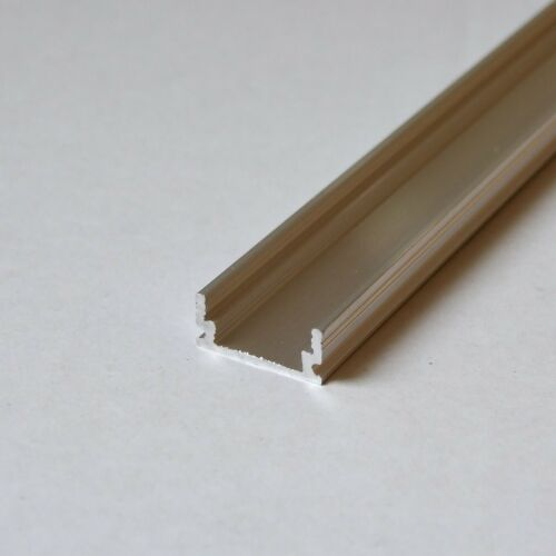 longueur: 485mm raw non-anodized Chaîne en aluminium pour led bandes // bandes