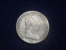 1/2 Lira Franz I  1822 M Mailand  W/15/545/A