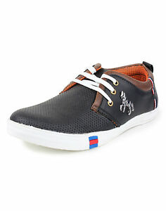 Inure Black Casual Shoes  For Men Art No84