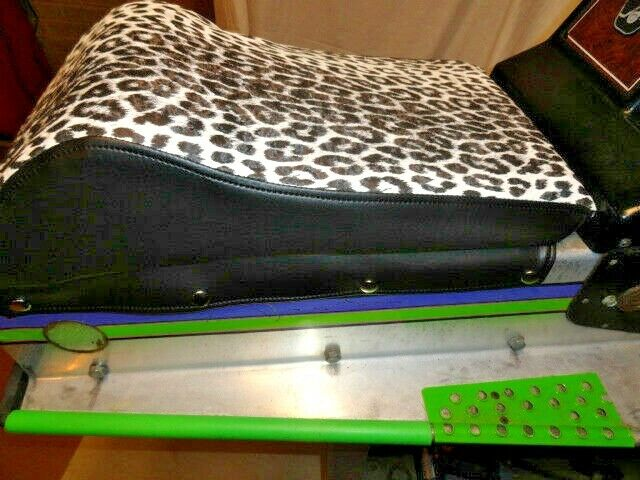 Details about  /Kitty Cat Snowmobile Seat Cover Only 72 TO 79 Original Paw Print Pattern Vinyl