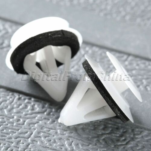 For Mazda Door Trim Panel Moulding Skirts Bump Strip Clip Retainer Sealer 50Pcs