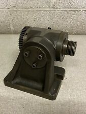 Vintage Small Index Head With 1 12 8 Spindle Lathe Chuck Face Plate Jig Fixture