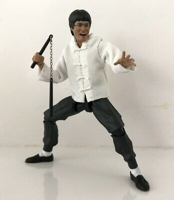 FIGLot 1//12 fabric white Top for SHF Bruce Lee NOX-BL-T