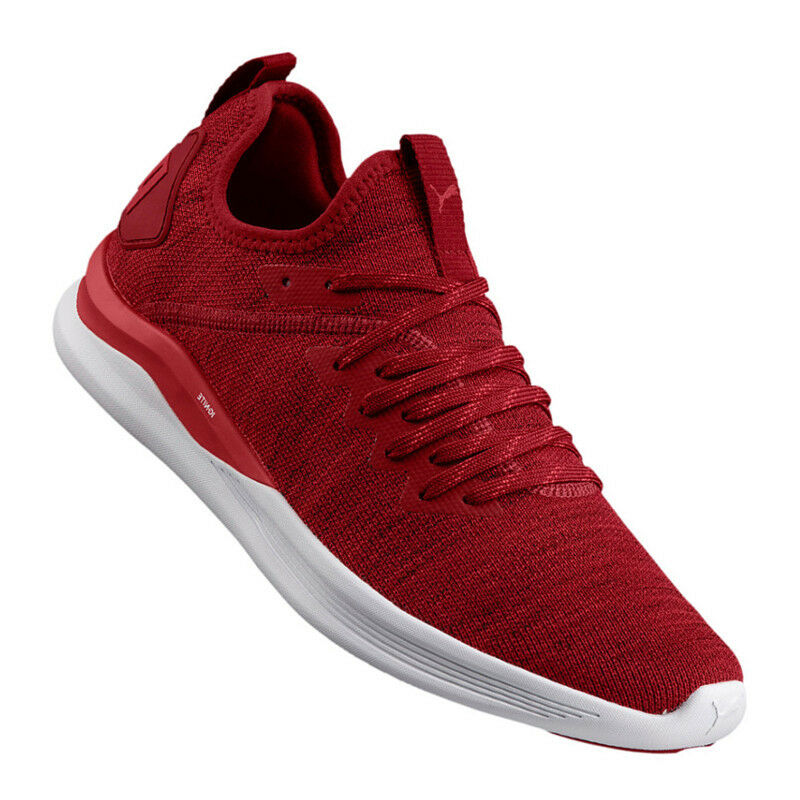 PUMA Ignite Flash evoknit  Rosso f01