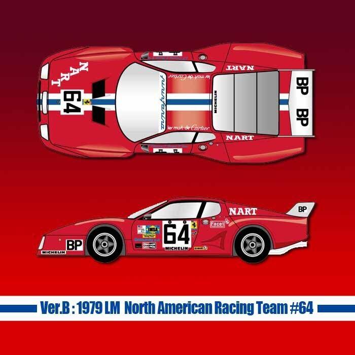 economico e alla moda Mfh Mfh Mfh 1 12 Ferrari 512BB Lm Ver.B1979 Nord America Racing squadra 64 Fulldetail Kit  ecco l'ultimo