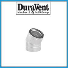 """DURAVENT DirectVent Pro 4"""" x 6-5/8"""" Galvanized 30 Degree Elbow #46DVA-E30"""