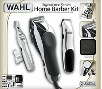 Barber 30 Piece Kit Hair Cut Electric Men Shaver Trimmer Clippers Machine Wahl
