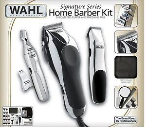 Barber 30 Piece Kit Hair Cut Electric Men Shaver Trimmer