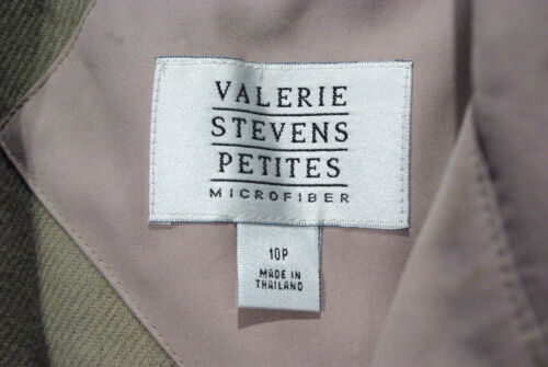 Trench Stevens Valarie Coat 10p Foder Long Størrelse Beige Out Microfiber Zip x4a1Iwqa